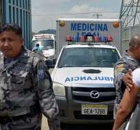 GUAYAQUIL, Ecuador.- En lo que va de 2019, 18 internos han sido asesinados dentro de los centros penitenciarios. Foto: API