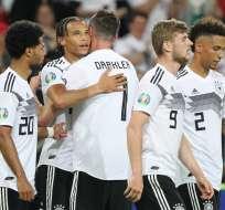 El conjunto europeo venció 8-0 a Estonia y en redes se acordó del Mineirazo. DANIEL ROLAND / AFP