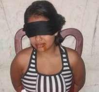 Mujer finge secuestro por $10 mil en Guayaquil.
