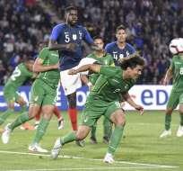 La selección sudamericana estará en el partido inaugural ante Brasil. Foto: SEBASTIEN SALOM-GOMIS / AFP