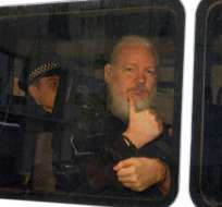 El australiano fue detenido el 11 de abril. Foto: AFP