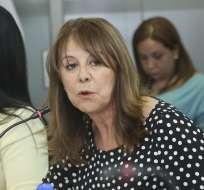 ECUADOR.- La vocal asumió su cargo en el organismo hace cinco meses, tras su posesión en la Asamblea. Foto: Asamblea Nacional
