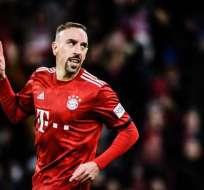 Ribery dejó esta temporada el Bayern Munich,