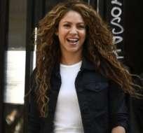 Shakira sorprende a sus fans con bikini rosa. Foto: Referencial - AFP
