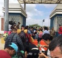 """Venezolanos en """"situación vulnerable"""" seguirán entrando sin visa a Perú. Foto: Ecuavisa"""