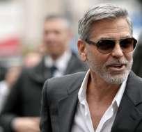 En 2010, George Clooney dio un testimonio contra la pareja. Foto: AFP