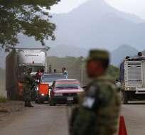 CUAUHTÉMOC, México.- Este martes, 6.000 miembros de la Guardia Nacional se desplegarán para incrementar controles. Foto: AP