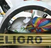 Encuentran un feto botado en el norte de Guayaquil. Foto: Captura de video