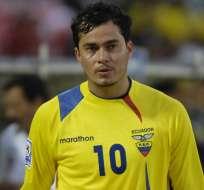 Kaviedes fue mundialista en 2002 y 2006.