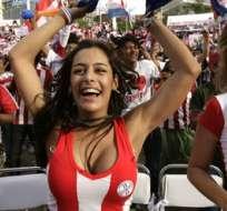Larissa Riquelme, durante el Mundial 2010.