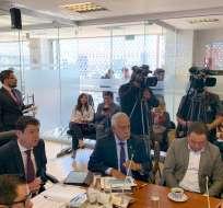 QUITO, Ecuador.- Según el ministro de Energía, se detectaron irregularidades en contratos otorgados por Cnel. Foto: Asamblea