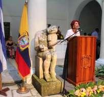 CUBA.- La exasambleísta fue designada por Moreno, a la embajada de Ecuador en Cuba, en 2017. Foto: Twitter