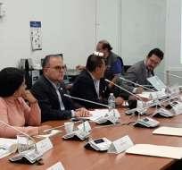 Mesa legislativa investiga el caso 'Arroz verde' tras resolución de Asamblea. Foto: Comisión Fiscalización