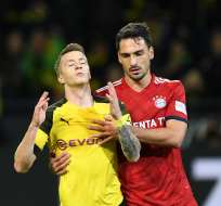 El defensor estuvo 3 temporadas en el Bayern Munich. Foto: CHRISTOF STACHE / AFP