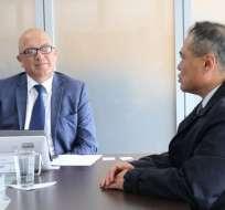 ECUADOR.- Lenín Moreno designó como encargado a Yuri Parreño, actual viceministro de esa cartera de Estado. Foto: Archivo