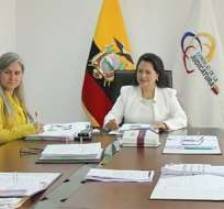 Patricia Esquetini renunció argumentando qu su gestión estuvo limitada. Foto: Judicatura