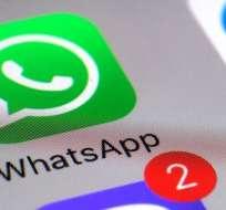 En estos teléfonos ya no se podrá descargar WhatsApp. Foto: AP