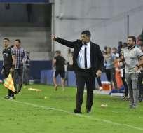 El técnico de Barcelona aseguró que hablarán con la FEF para que no le convoquen jugadores. Foto: Archivo
