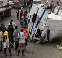 14 accidentes de tránsito se registran a diario en Guayaquil. Foto: Archivo - Referencial