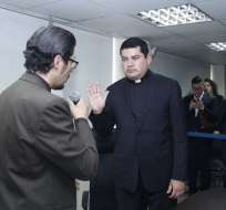 El presidente del Cpccs es acusado de irregularidades en su inscripción como candidato. Foto: Cpccs