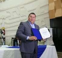 Alfredo Chang Hi-fong, alcalde de Palenque. Foto: cne.gob.ec