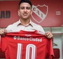 Gaibor no tuvo continuidad esta temporada con Independiente.
