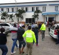93 personas fueron detenidas. Foto: Policía Nacional