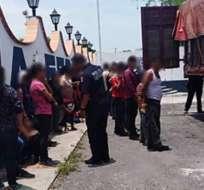 Otros 8 migrantes de Bangladés fueron rescatados de un secuestro en el estado de Tamaulipas. Foto: Secretaría de Seguridad