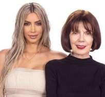 Kim Kardashian y Mary Jo Campbell.