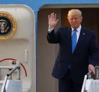 """El mandatario de Estados Unidos aceptó que había actuado por """"puro instinto"""". Foto: AFP"""