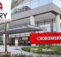 ECUADOR.- En su momento, la defensa de Rivera señaló que Glory recibió dinero de Odebrecht. Fotoarte: Ecuavisa