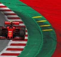 El monegasco es seguido por Lewis Hamilton y Max Verstappen. Foto: ERWIN SCHERIAU / APA / AFP