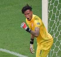 Los 'incas' eliminaron a Uruguay a través de los tiros penales. Foto: Luis ACOSTA / AFP