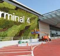 El aeropuerto de Singapur es considerado uno de los mejores del mundo.
