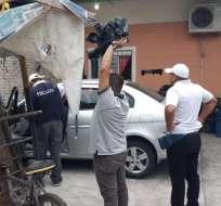 Autoridades ofrecen una recompensa de tres mil dólares por información del sospechoso. Foto: @ATMGuayaquil