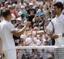 Ambos jugadores fueron los finalistas del torneo el año pasado. Foto: ADRIAN DENNIS / AFP
