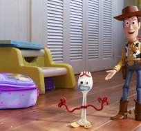 """Una escena de la cinta animada """"Toy Story 4"""". Foto: AP"""