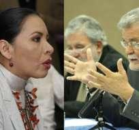 """ECUADOR.- Según la titular del CNE, los consejeros """"pierden el tiempo"""" con denuncias sin pruebas. Collage: Ecuavisa"""