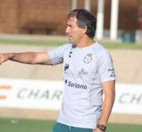 Guillermo Almada, entrenador de BSC.