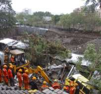 Al menos 21 muertos en India por las fuertes lluvias. Foto: AP