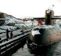 14 marinos mueren por incendio en submarino ruso. Foto: AP - Referencial