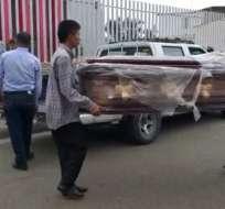 Niño muere por impacto de bala en Manabí. Foto: Twitter