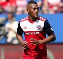 El ecuatoriano llegó en 2016 al FC Dallas.