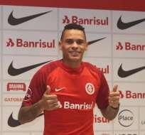 Álvez llegó a Internacional de Porto Alegre en 2018.