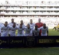 El delantero colombiano estará con los 'albos' hasta diciembre de 2020. Foto: AFP