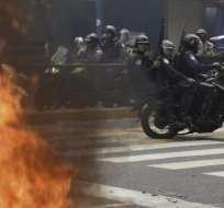 Rufo Chacón recibió 52 disparos perdigones en el rostro, según médico. Foto: Archivo AFP