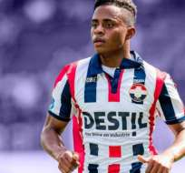 Diego 'Chiqui' Palacios, con la camiseta del Willem II.