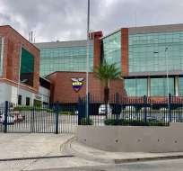Edificio de la FEF en Guayaquil. Foto: Twitter Javier Ruiz.