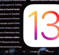 El nuevo sistema operativo de Apple, iOS 13, será lanzado oficialmente en septiembre de 2019.