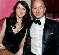 Jeff Bezos se divorció finalmente por 38.000 millones. Foto: AFP